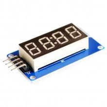 4-разрядный LED индикатор TM1637