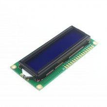 ЖКИ LCD Дисплей 1602 16x2 для Arduino, Arm(син.фон,бел.симв.)