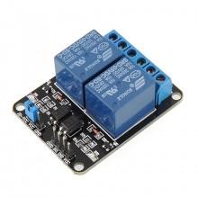 Модуль реле 2 канала 5V для Arduino, Pic, ARM