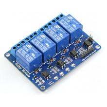 Модуль реле 4 канала 5V для Arduino, Pic, ARM
