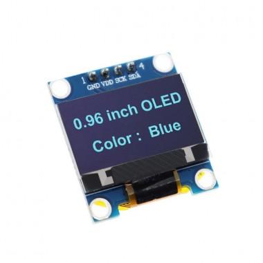 """Oled Дисплей 0.96"""" 128x64, черный фон, синие символы"""