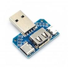 Переходник адаптер для тестера USB