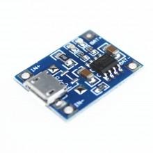 Плата зарядки Li-ion аккум. TP4056 micro USB